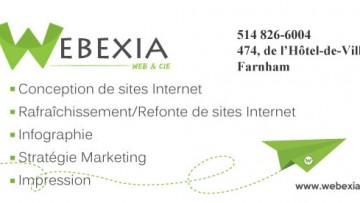 Webexia – conception de sites web