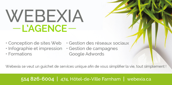 Webexia – conception de sites web