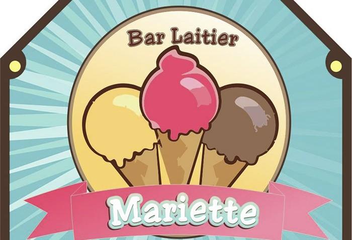 Début de la saison estivale du Bar Laitier Chez Mariette