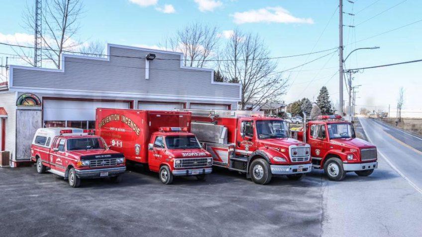Brunch annuel des pompiers de Notre-Dame-de-Stanbridge