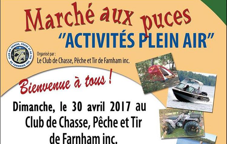 Marché aux puces «Activités plein air»