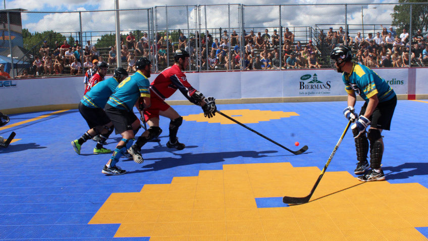 Tournoi de dek hockey