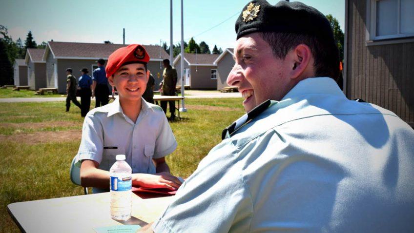50 ans du corps des cadets 2614 à Farnham
