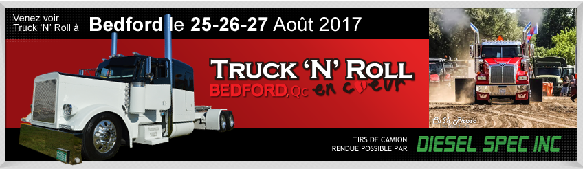 Truck 'N' Roll en cœur Bedford