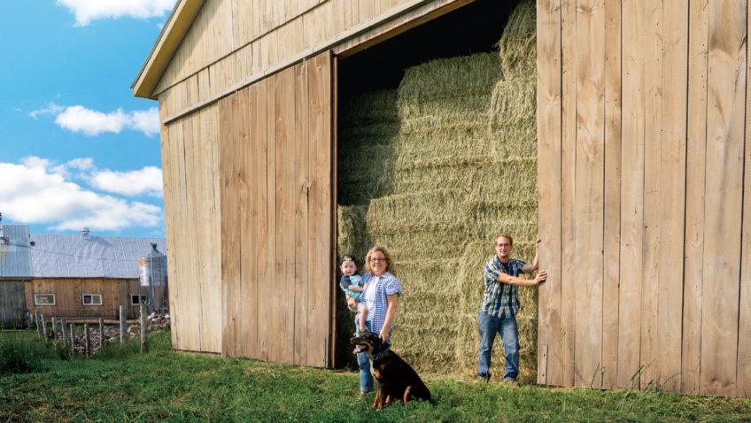 Portes ouvertes dans les fermes du qu bec gens de farnham for Porte ouverte upa