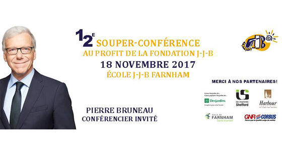 Souper-conférence 2017