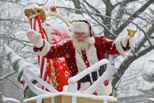 Défilé de Noël de la CCBM