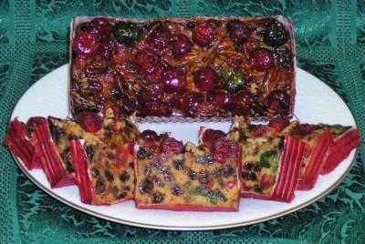Gâteaux aux fruits à vendre
