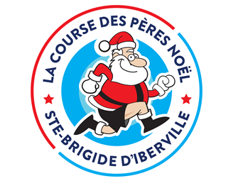 La course des Pères Noël à Ste-Brigide D'Iberville