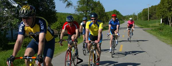 Les défis Desjardins en vélo
