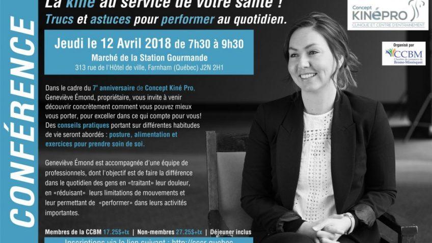 Conférence avec Concept Kiné Pro