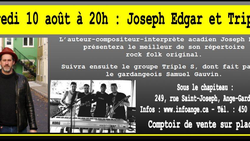 Joseph Edgar et Triple S