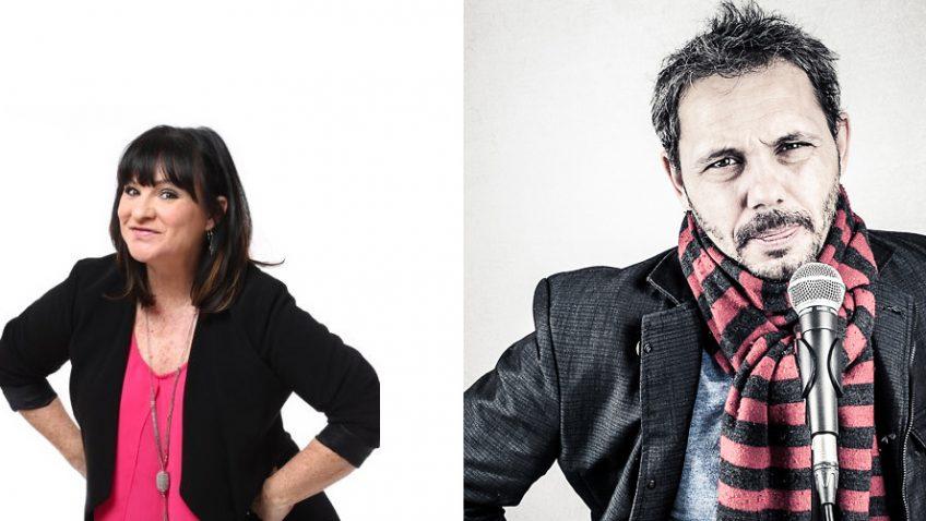 Spectacle d'humour avec Geneviève Gagnon et Dominick Léonard